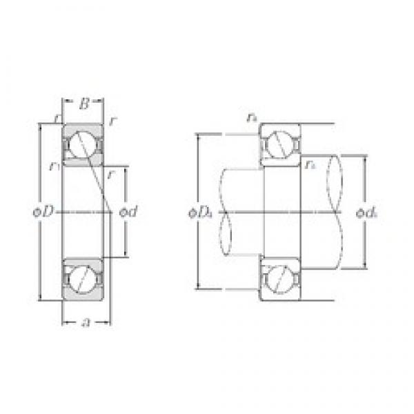 NTN BNT200 angular contact ball bearings #3 image