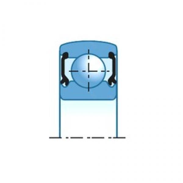 NTN CS206LLU deep groove ball bearings #3 image