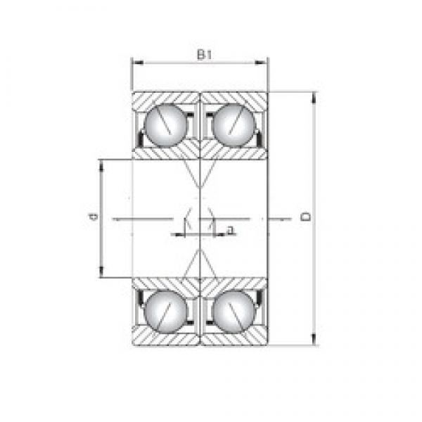 ISO 71924 CDF angular contact ball bearings #2 image