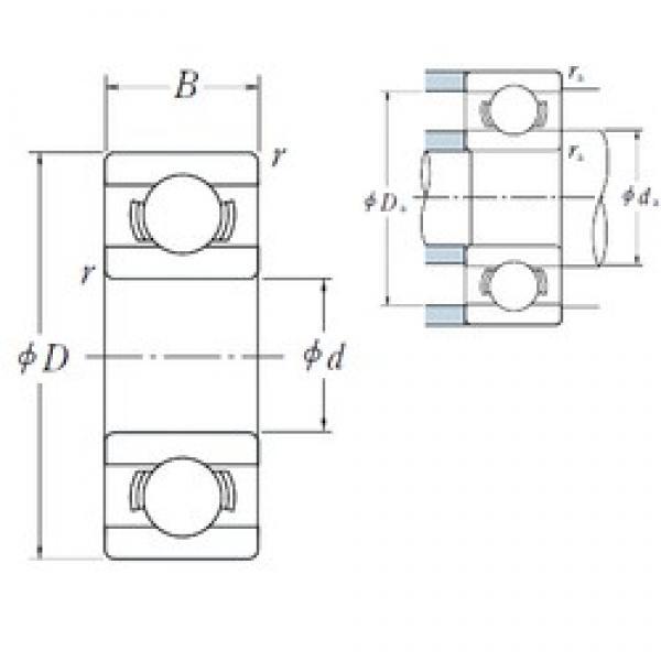 ISO 609 deep groove ball bearings #2 image