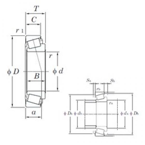 KOYO HM803145/HM803110 tapered roller bearings #2 image