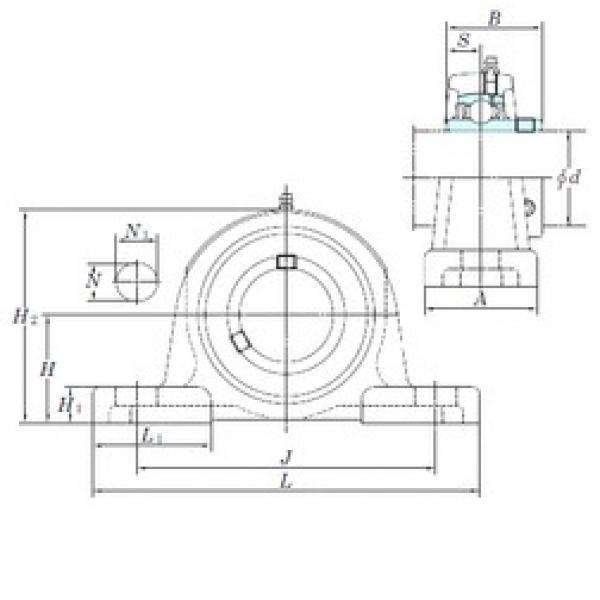 KOYO UCP315 bearing units #2 image