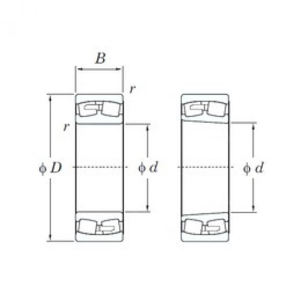 KOYO 22334RK spherical roller bearings #2 image
