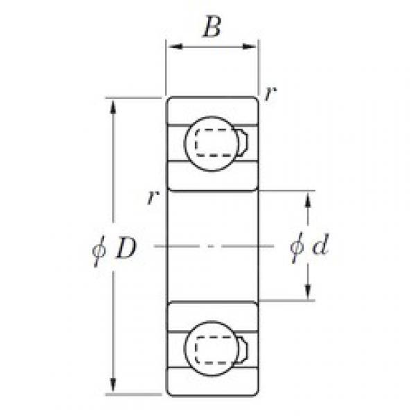 KOYO 3NC6205ST4 deep groove ball bearings #2 image