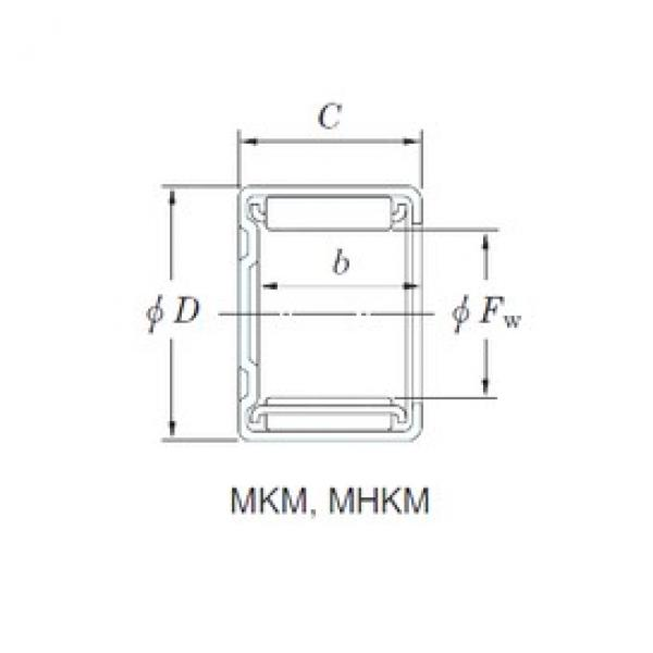 KOYO 30MKM3716 needle roller bearings #2 image