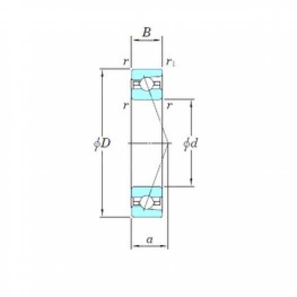 KOYO HAR928CA angular contact ball bearings #2 image