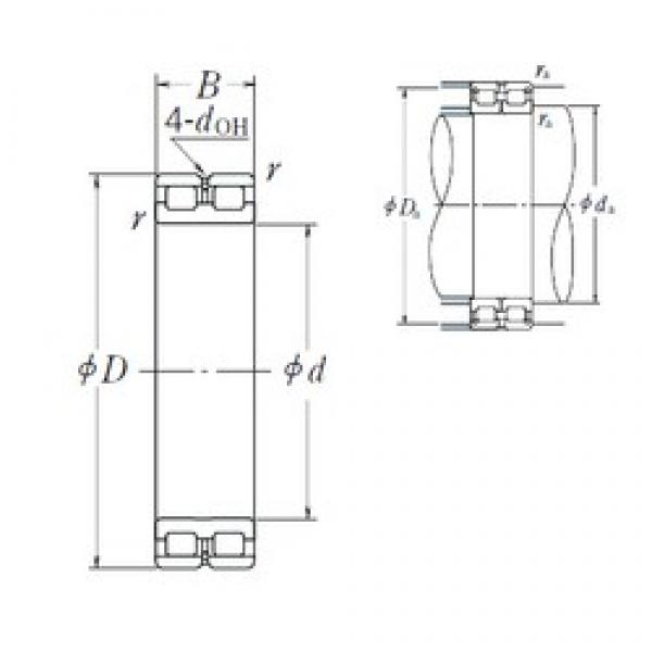 NSK RSF-4960E4 cylindrical roller bearings #3 image