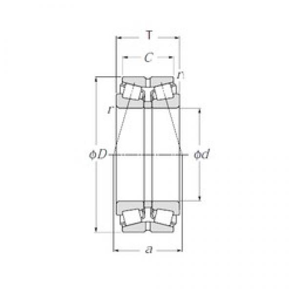 NTN 430222XU tapered roller bearings #3 image