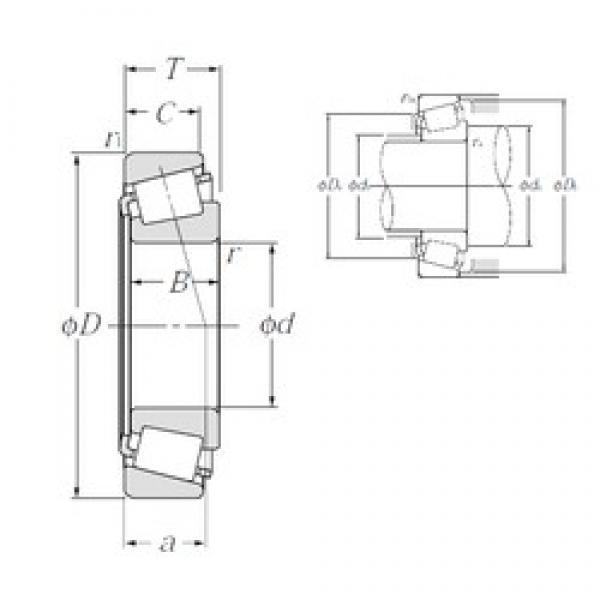 NTN 4T-L812148/L812111 tapered roller bearings #3 image