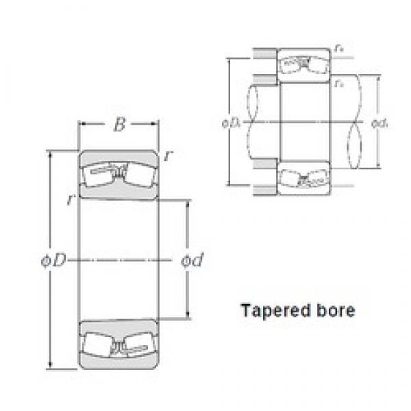 NTN 23124BK spherical roller bearings #3 image