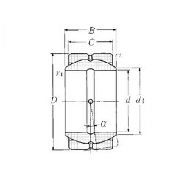 NTN SA4-50B plain bearings #3 image