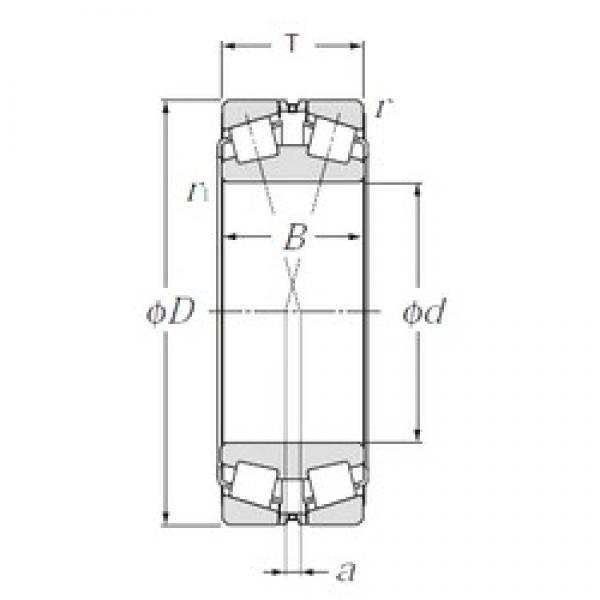 NTN 323122 tapered roller bearings #3 image